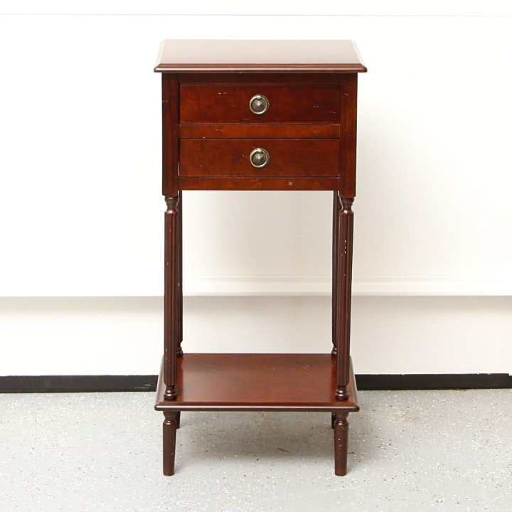 Vintage Sheraton Style Side Table