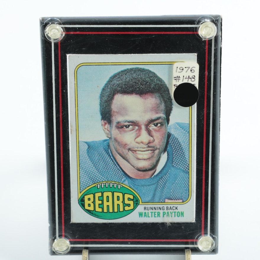 1976 Topps 146 Walter Payton Rookie Card