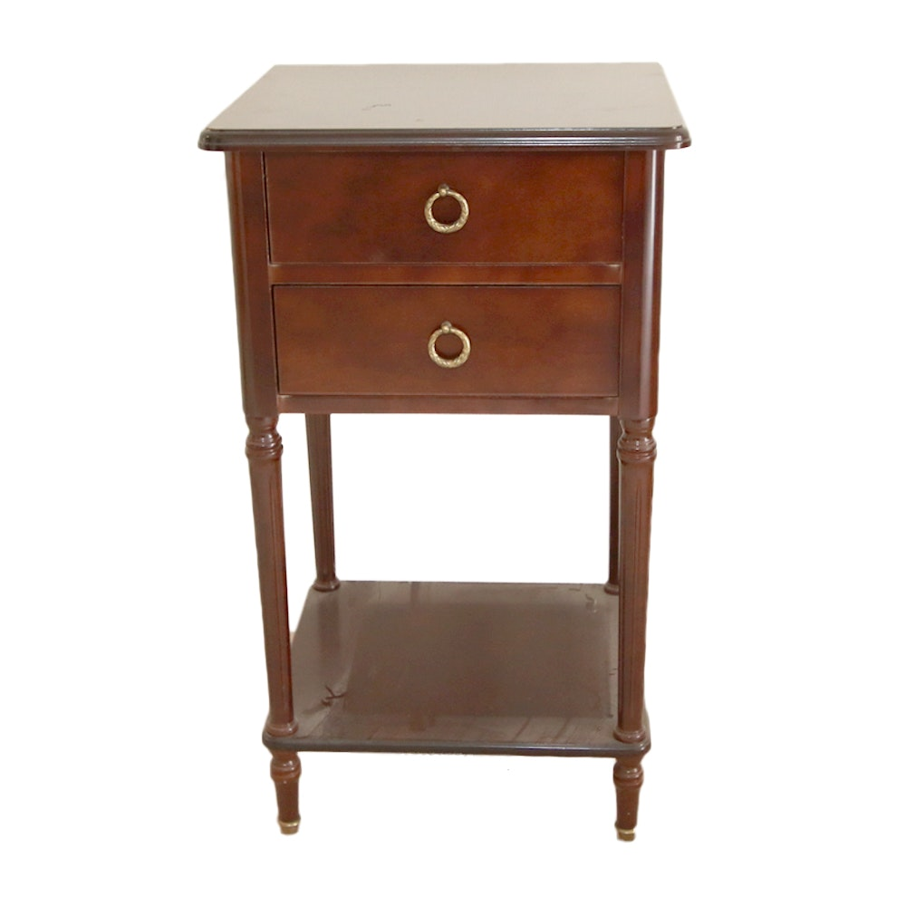 Vintage Neoclassical Style Side Table