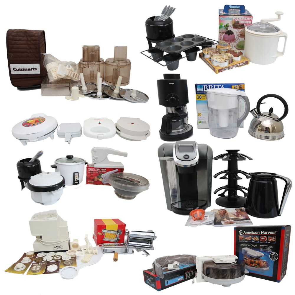 Superb Large Collection Of Small Kitchen Appliances ...