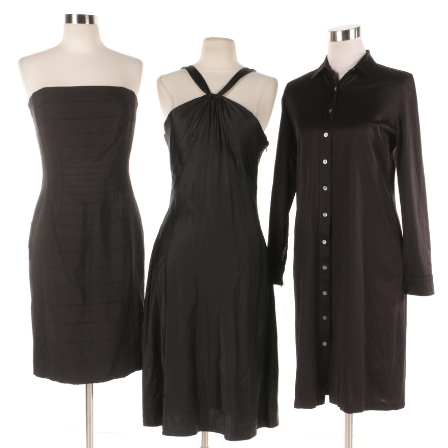 Black Cocktail Dresses Including Calvin Klein and Isabella DeMarco ...