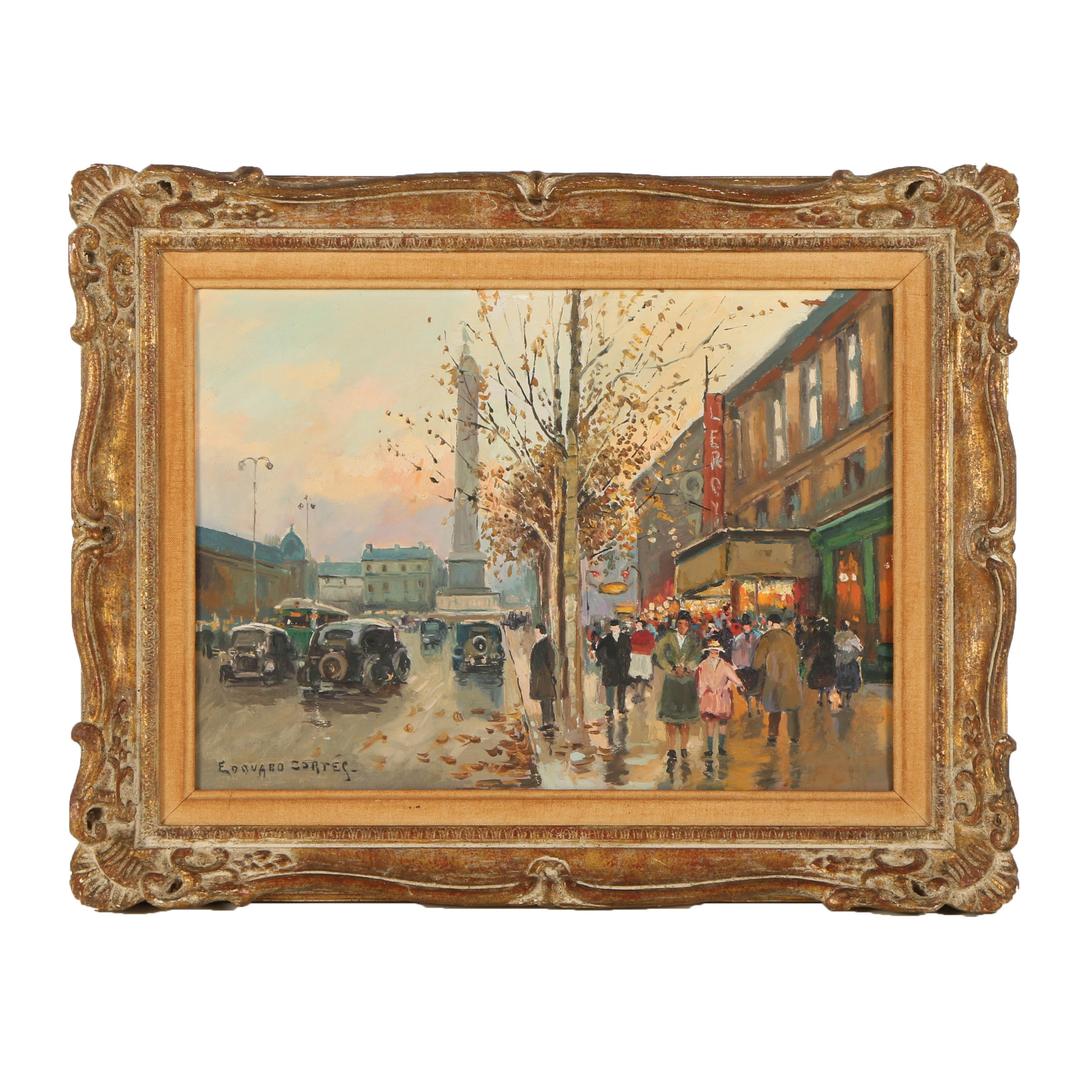 Oil Painting in the Manner of Edouard Leon Cortés