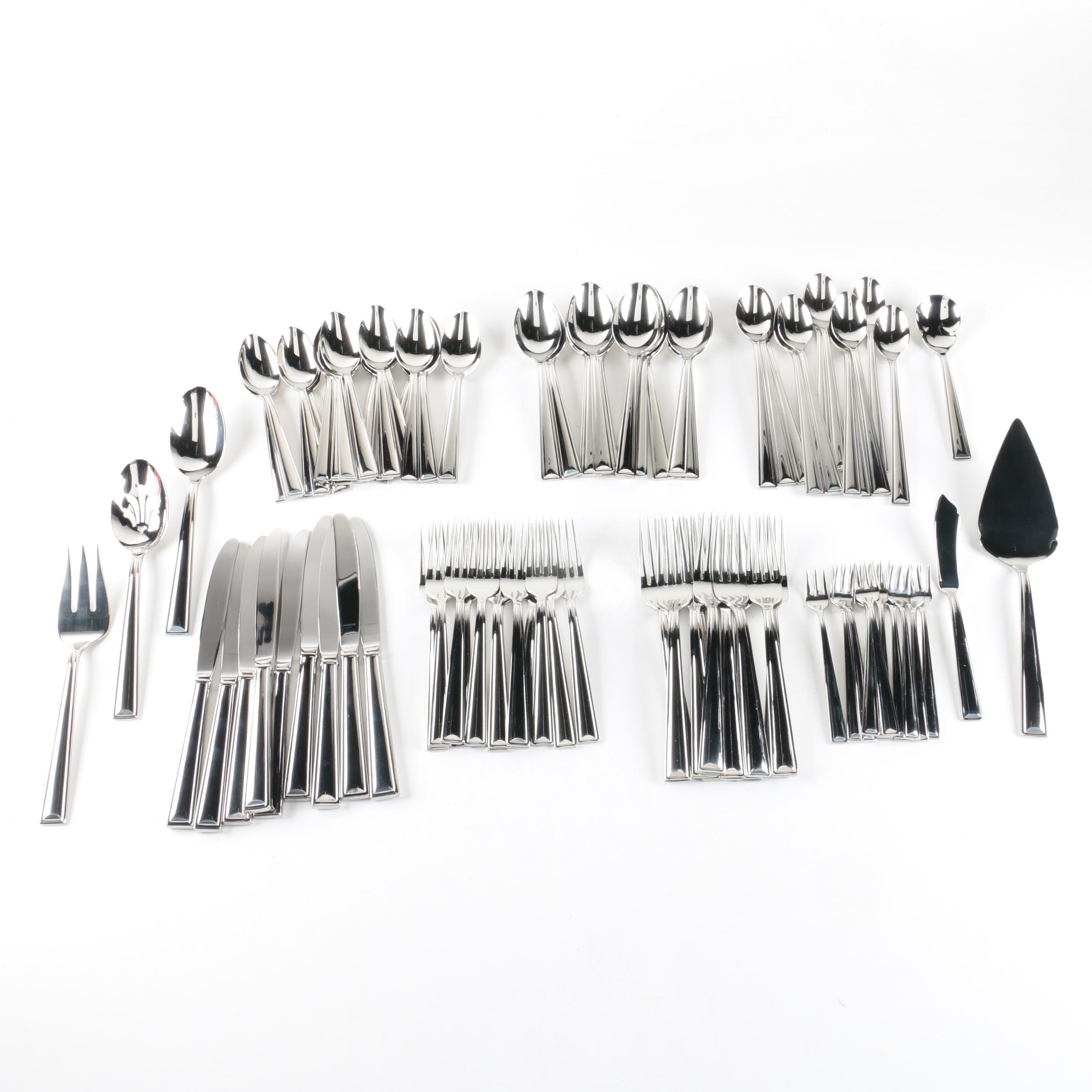 Gorham Stainless Steel Flatware Set