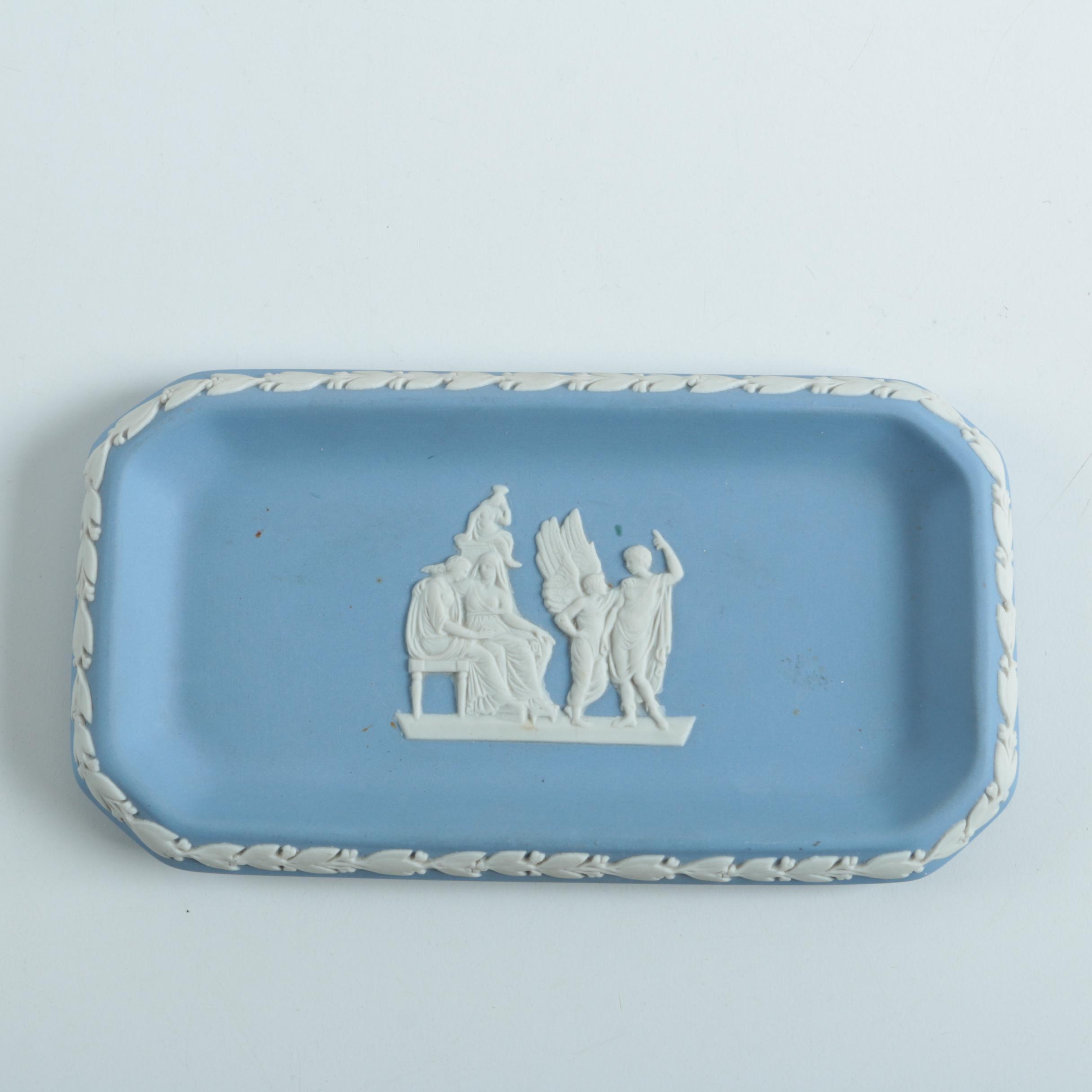 Blue Wedgwood Jasperware Tray
