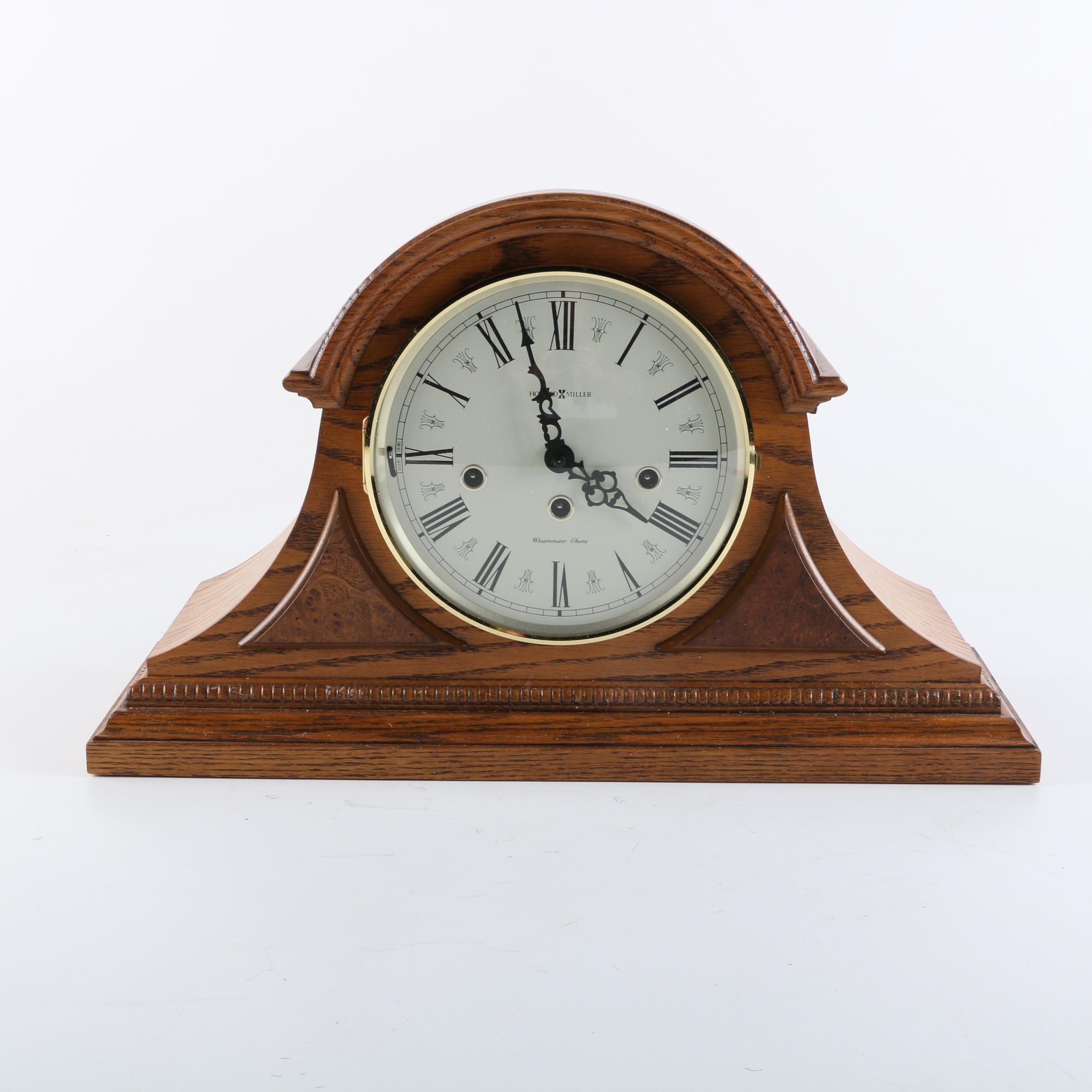 Howard Miller Tambour Mantel Clock