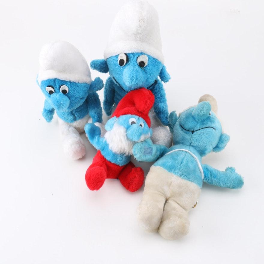 Vintage Peyo Plush Smurf Toys Ebth