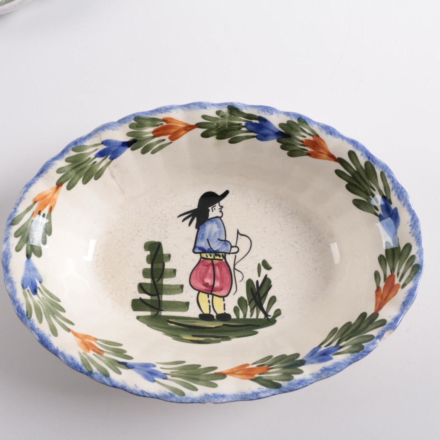 French Hand Painted Bowls