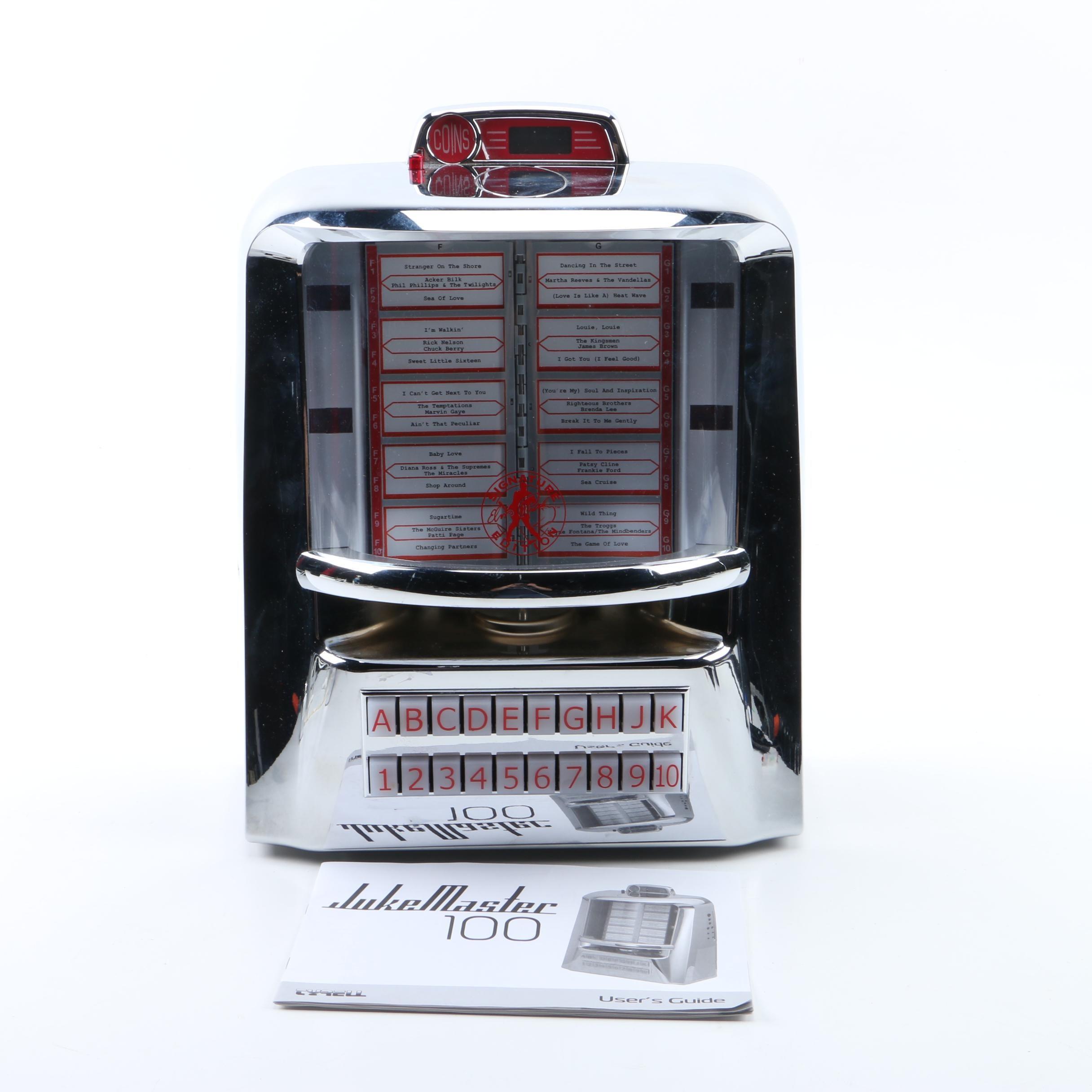 Tyrell Jukemaster 100 MP3, CD Player/FM Radio