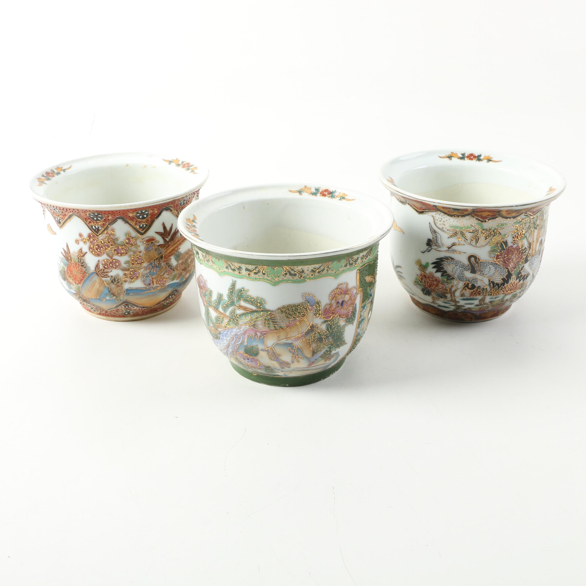 Decorative Chinese Ceramic Planters