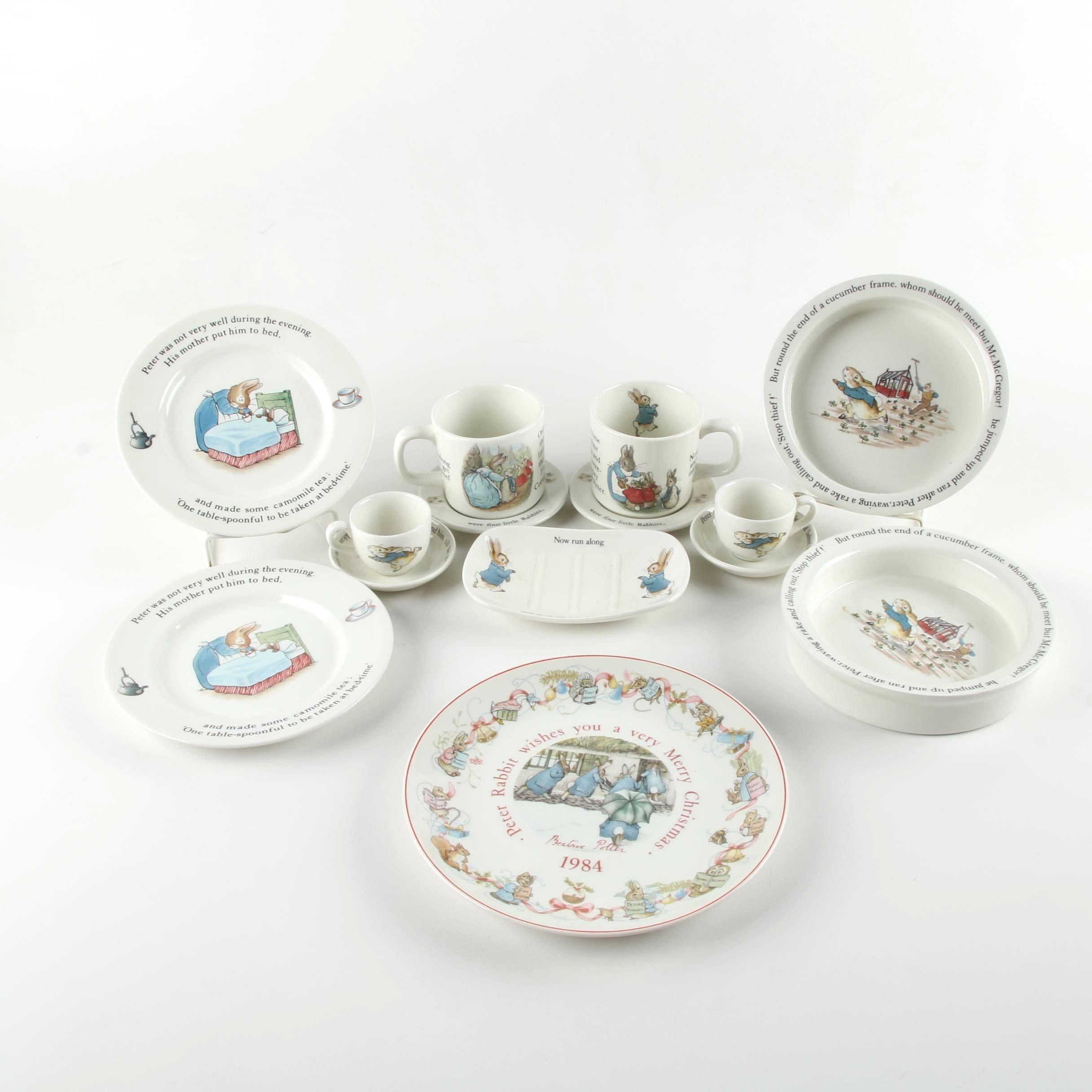 Wedgwood \ Peter Rabbit\  Dinnerware ...  sc 1 th 225 & Wedgwood \