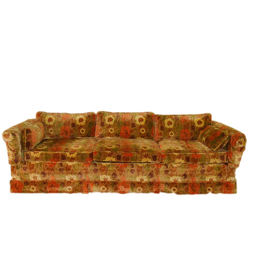 Floral Sofa by Sherrill EBTH