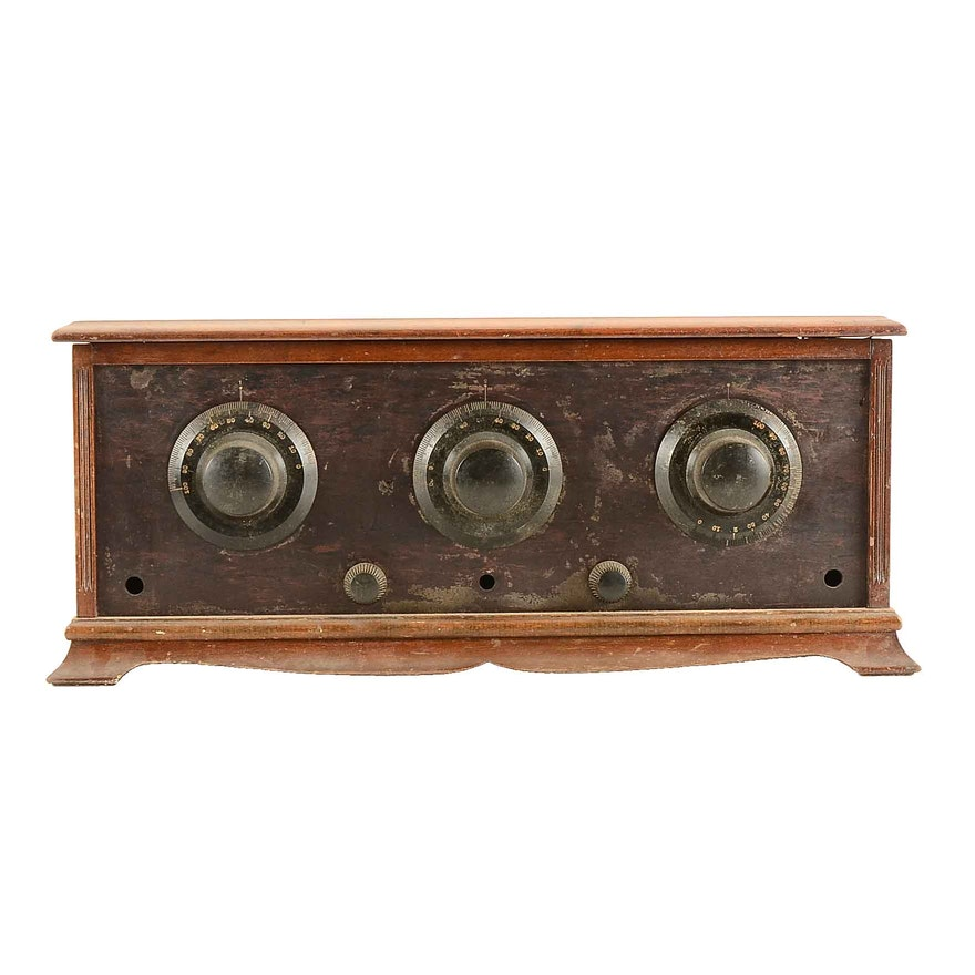 Vintage Tube Cabinet Radio ... - Vintage Tube Cabinet Radio : EBTH