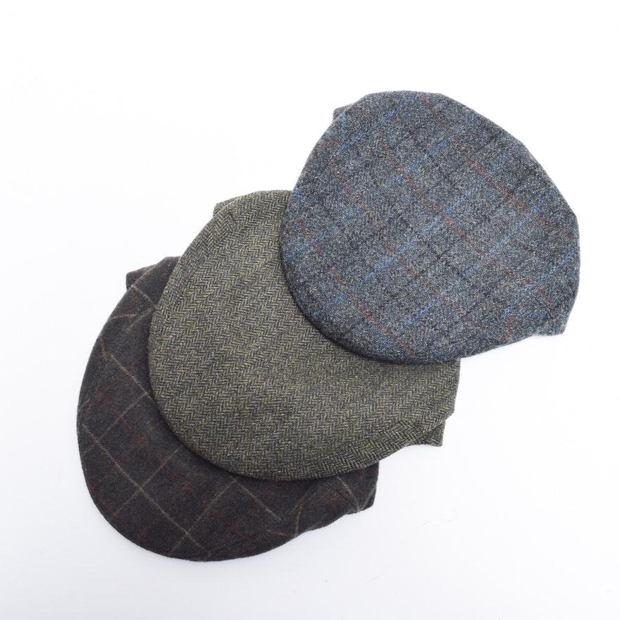 Men s Lock   Co. Hatters Fairway Wool Flat Caps   EBTH 0963ef9be0a9