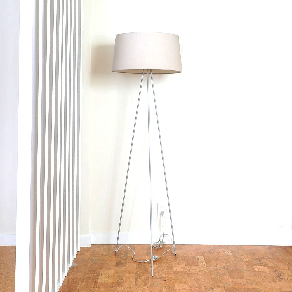 Contemporary Modern Tripod Floor Lamp