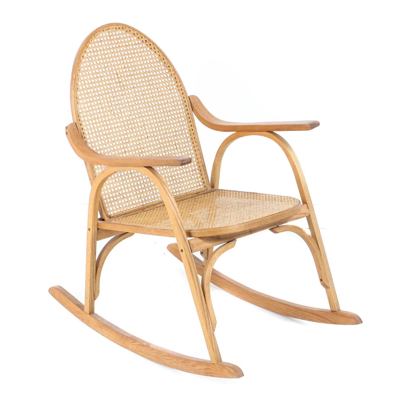 Vermont Tubbs Cane Rocking Chair ...