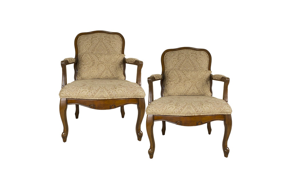 Pair of French Provincial Style Armchairs