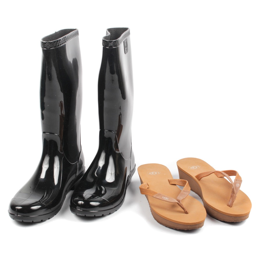 88b38477a454 Ugg Australia Rubber Boots and Sandals