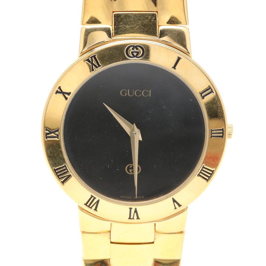 efba0f91f2a Gucci Gold Plated Wristwatch   EBTH