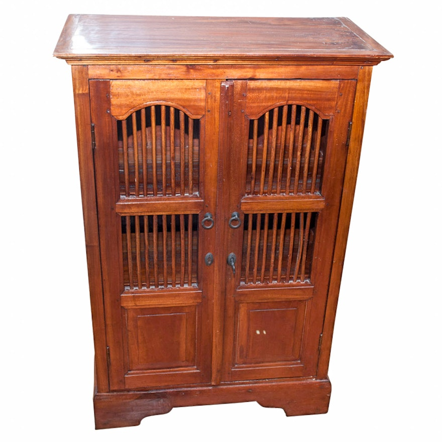 Small Antique Library Cabinet ... - Small Antique Library Cabinet : EBTH