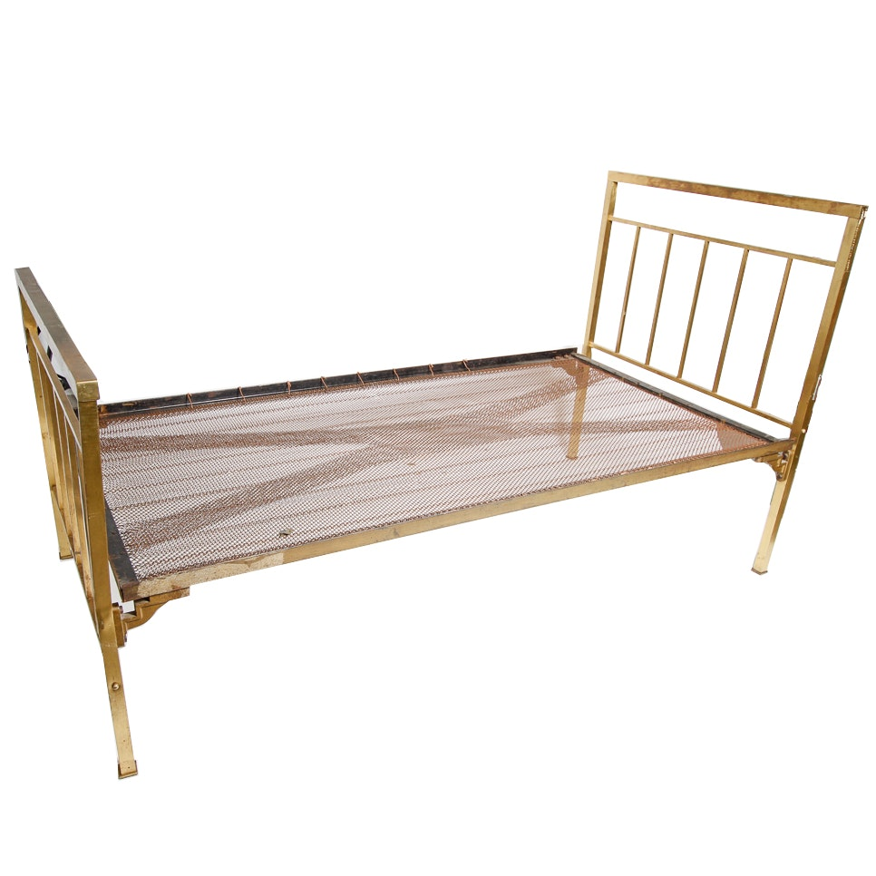 Brass Twin Bed Frame Ebth