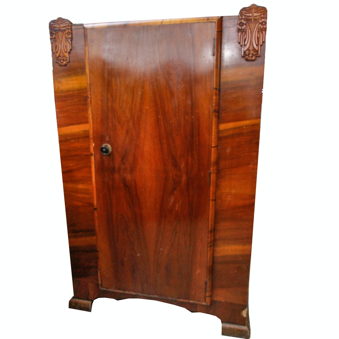 Vintage Art Deco Style Wardrobe Cabinet