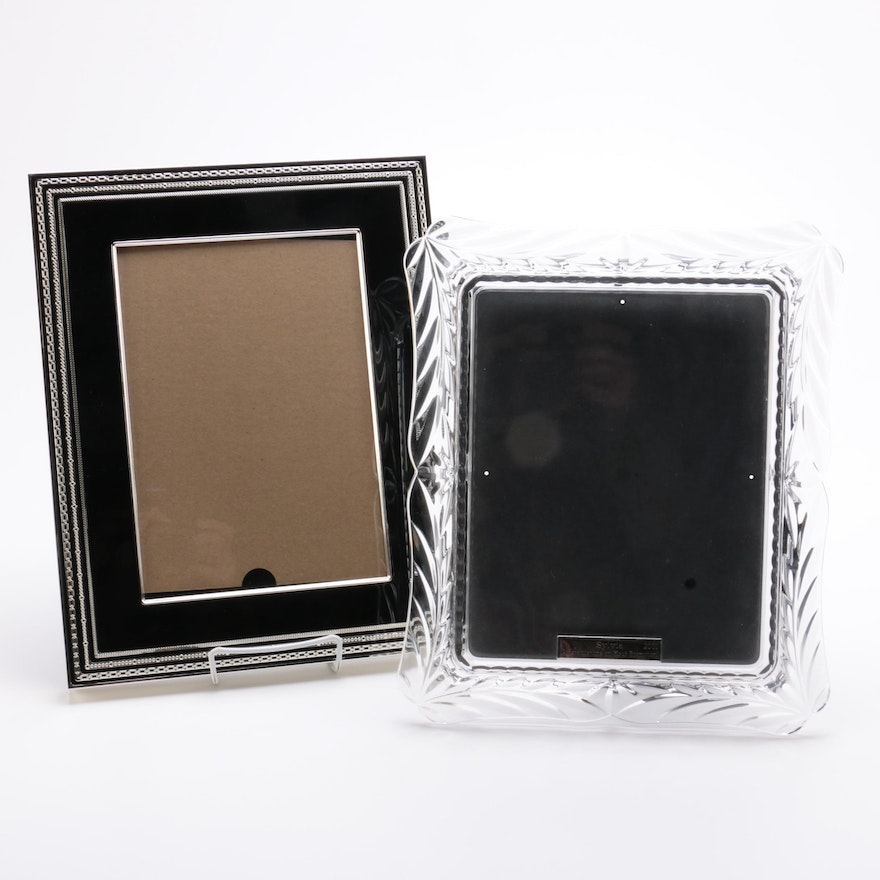 Vera Wang For Wedgwood With Love Noir Picture Frame With Crystal