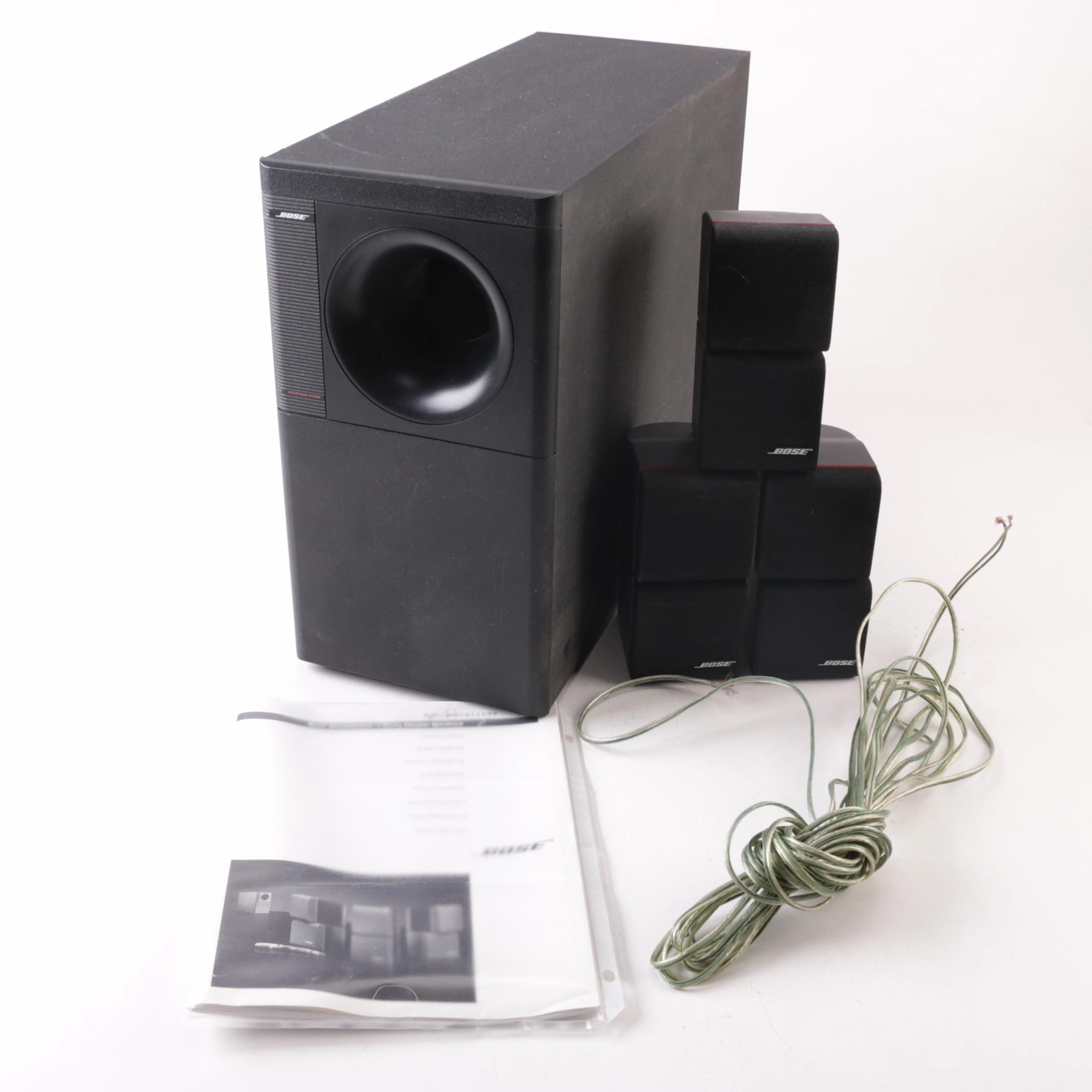 bose acoustimass 7 home theatre speaker system ebth rh ebth com Bose Acoustimass 9 Speaker System Bose Acoustimass 7 Specs
