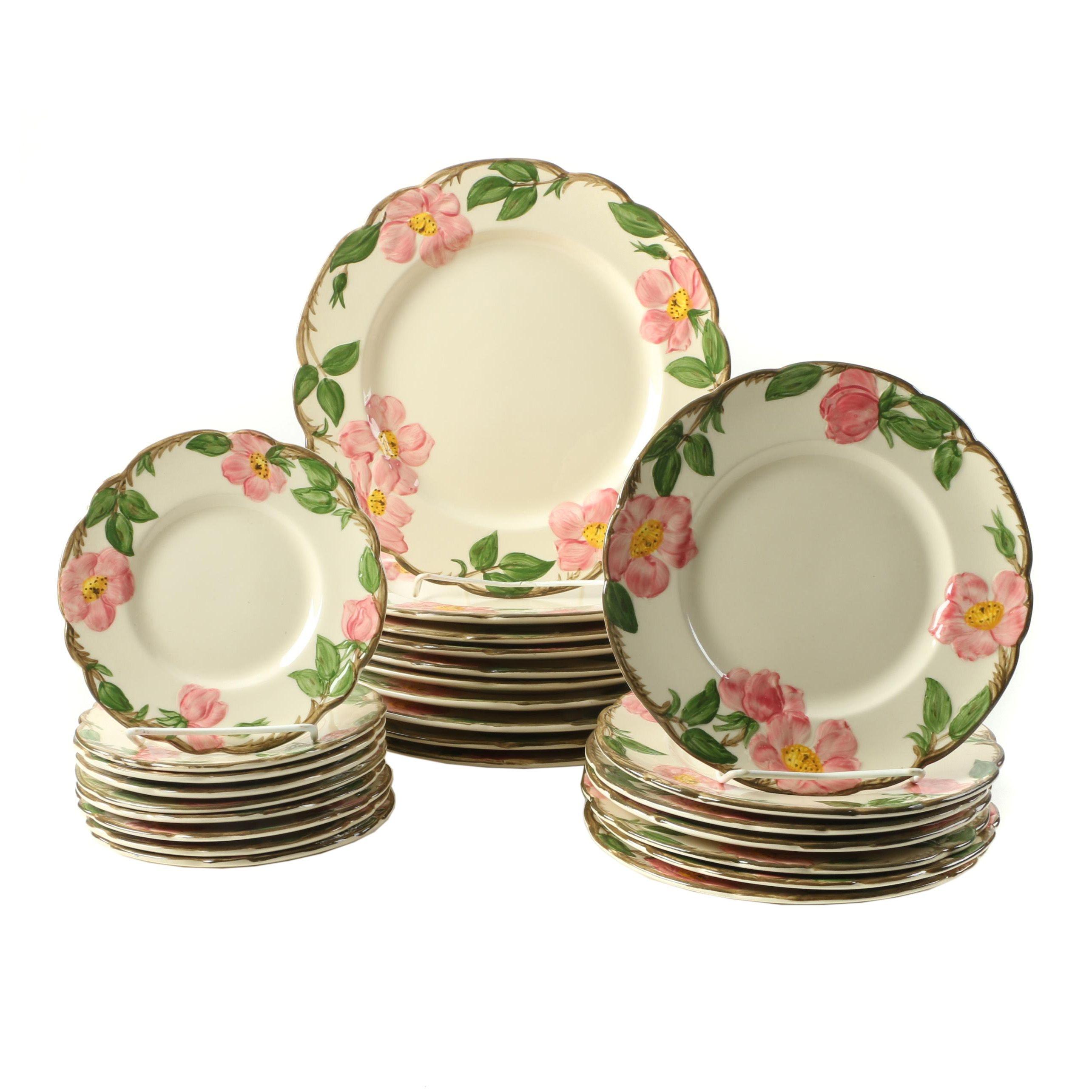 Vintage Franciscan \ Desert Rose\  Plates ...  sc 1 st  EBTH.com & Vintage Franciscan \