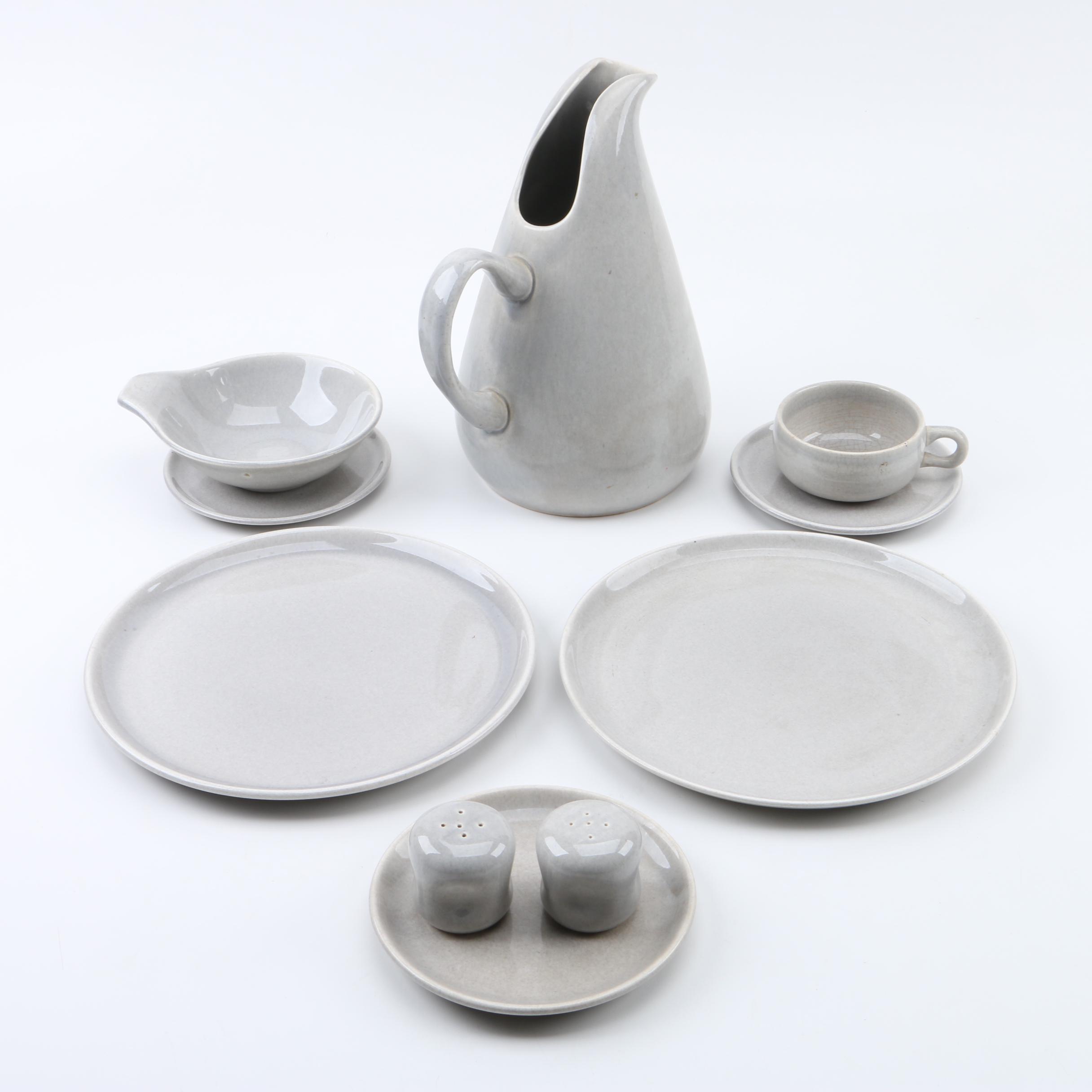 Vintage Russel Wright \ American Modern Granite Gray\  by Steubenville Pottery ... & Vintage Russel Wright \