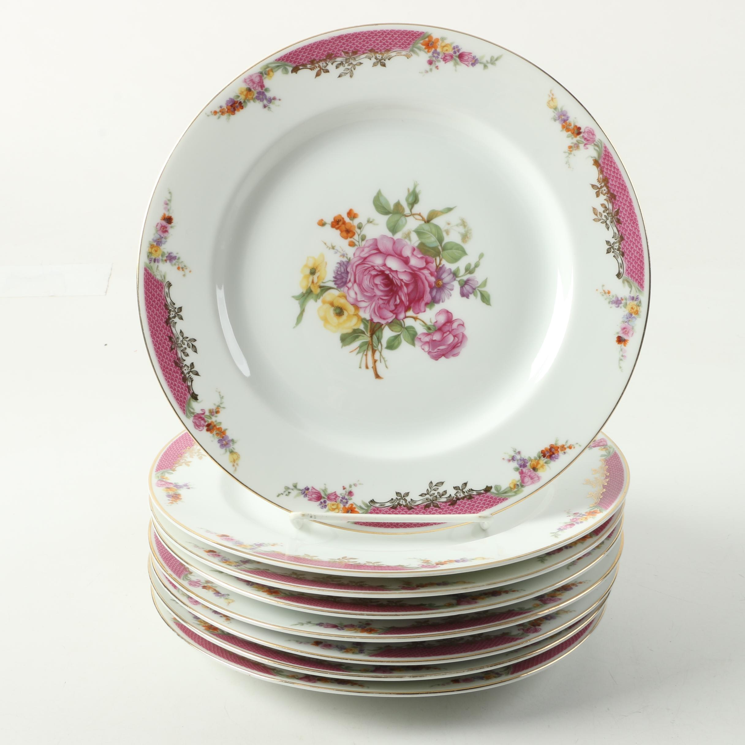 Rosenthal \ Queens Rose\  Porcelain ... : queens dinnerware - pezcame.com