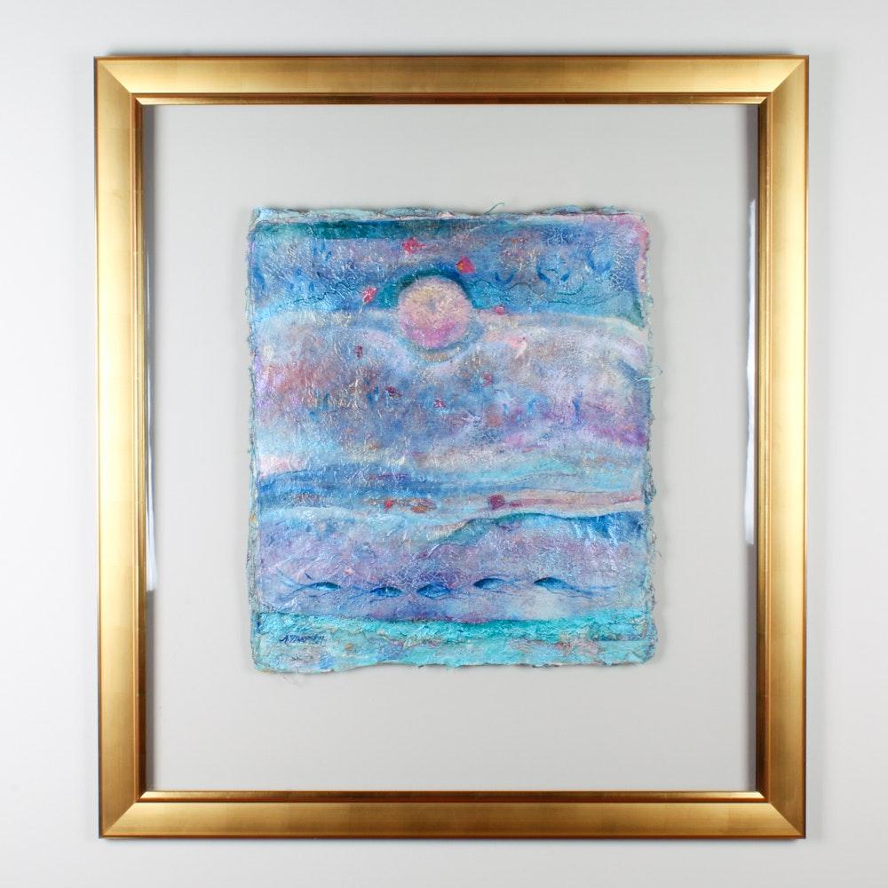 "Aimee Trayser Watercolor Painting ""Island Music 2003"""
