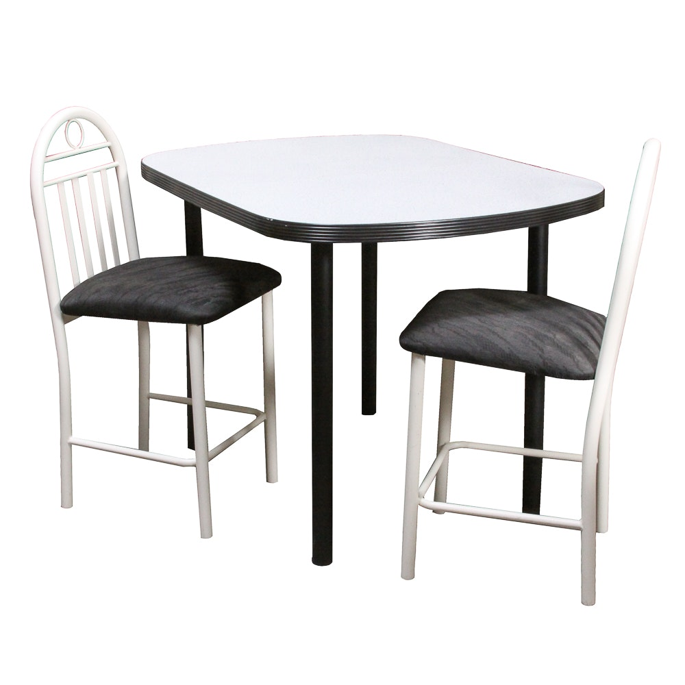 1980's Style Kitchen Table and Chairs