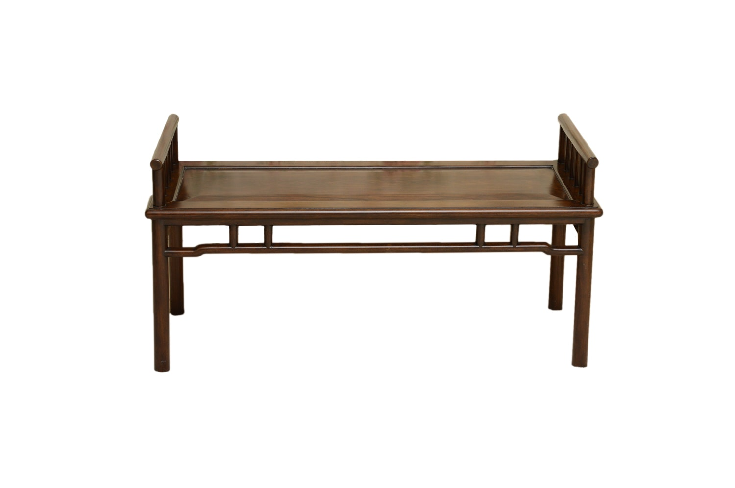 Vintage Chinese Style Accent Bench