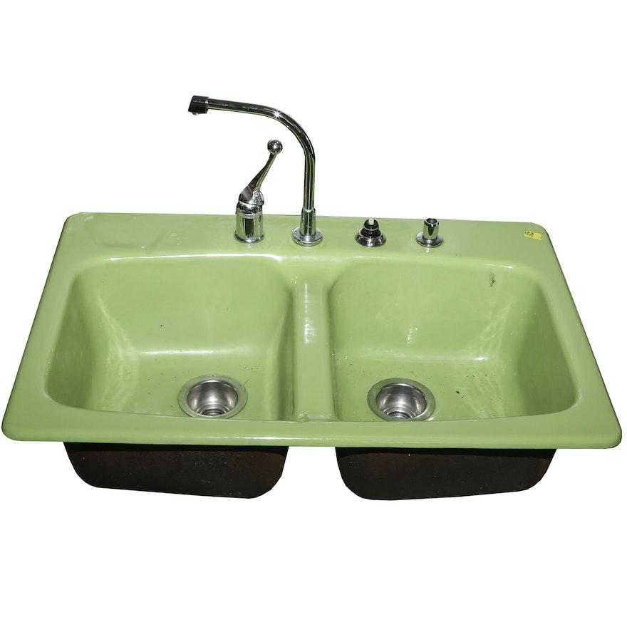 Vintage Kohler Porcelain Sink : EBTH
