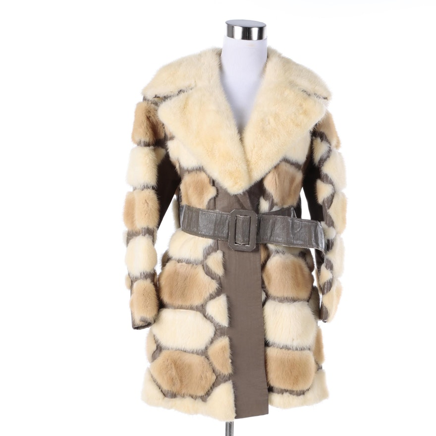 7e7e950f52bf Vintage Pickett s Mink Fur Coat   EBTH