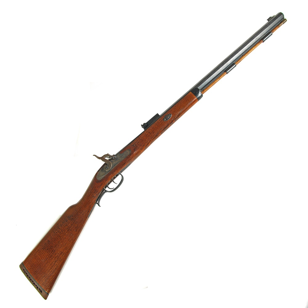 Vintage Gamester-Hawken Black Powder Rifle by Connecticut Valley Arms