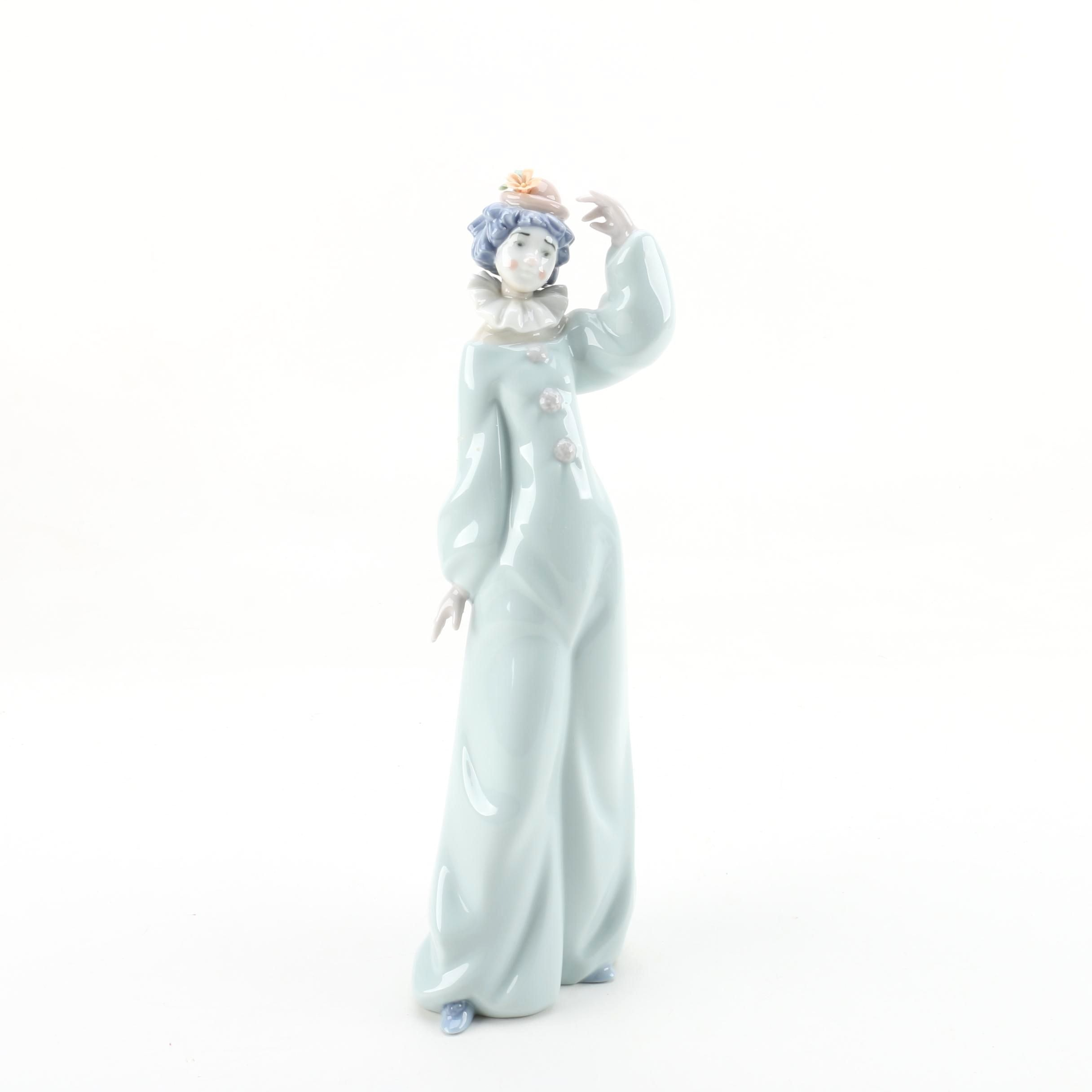 "Lladro ""Welcome To The Circus"" Clown Figurine"