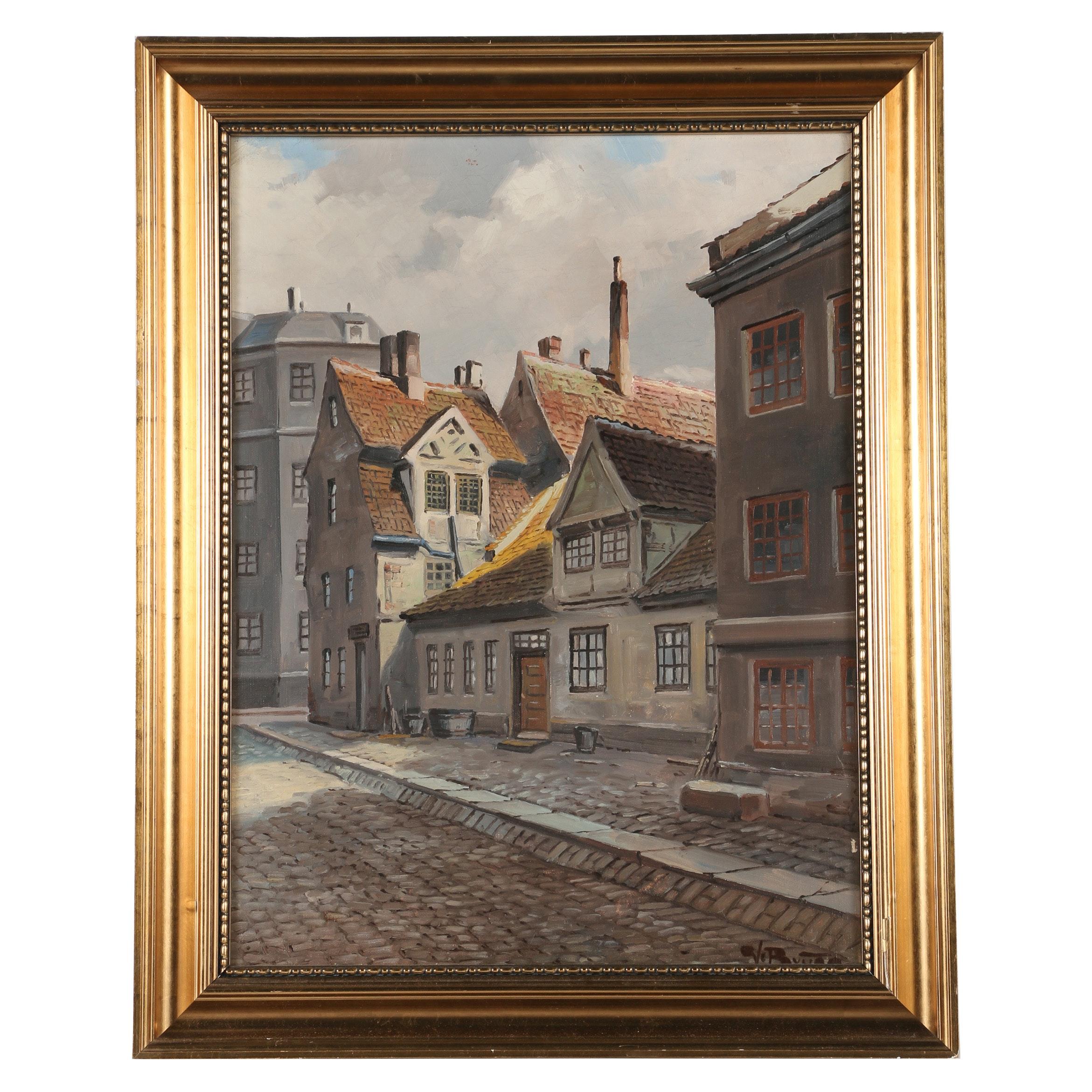 Valdemar Bruno Oil Painting