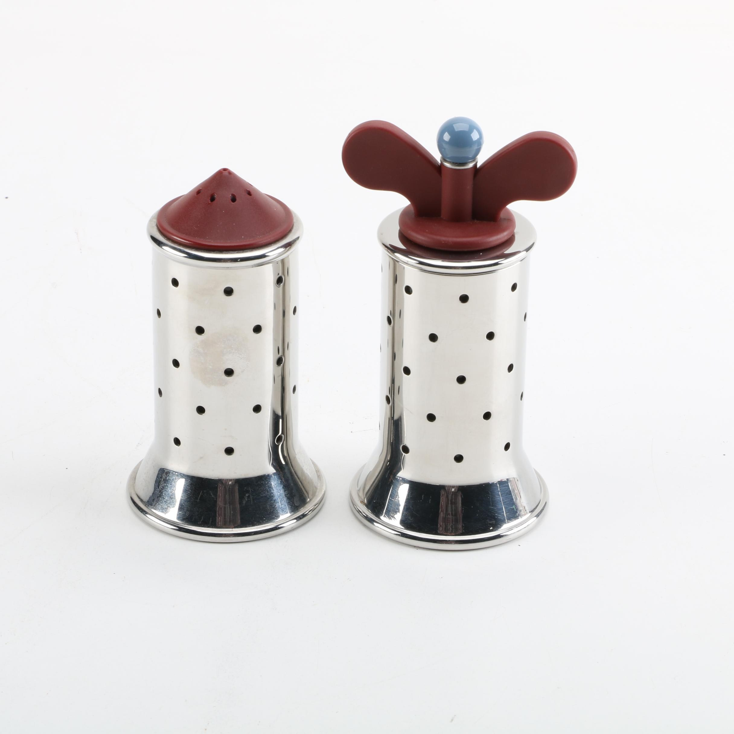 Alessi Salt Shaker and Pepper Mill
