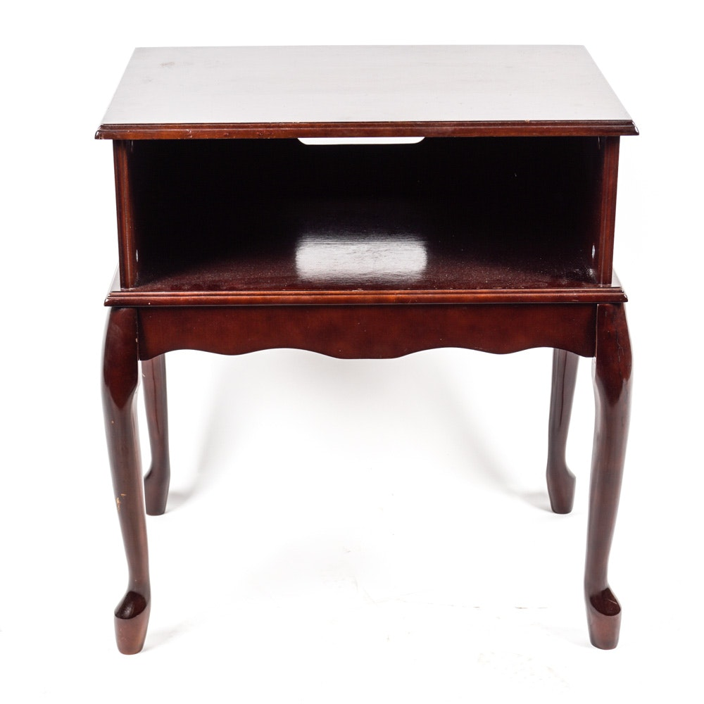 Queen Anne Style Side Table by Powell Incorporated