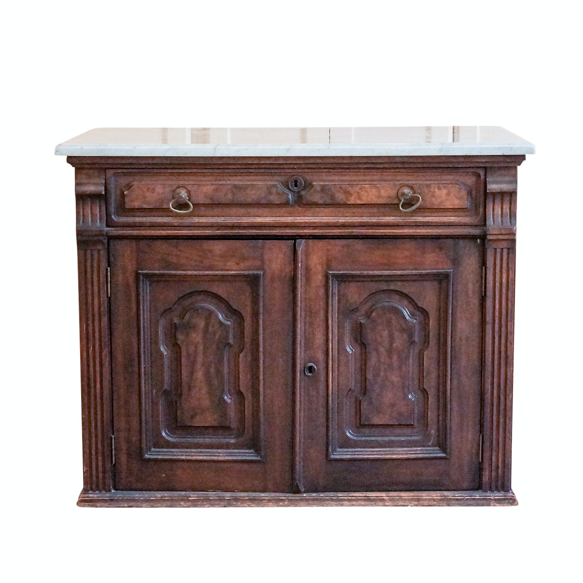 Antique Victorian Marble Top Wash Stand
