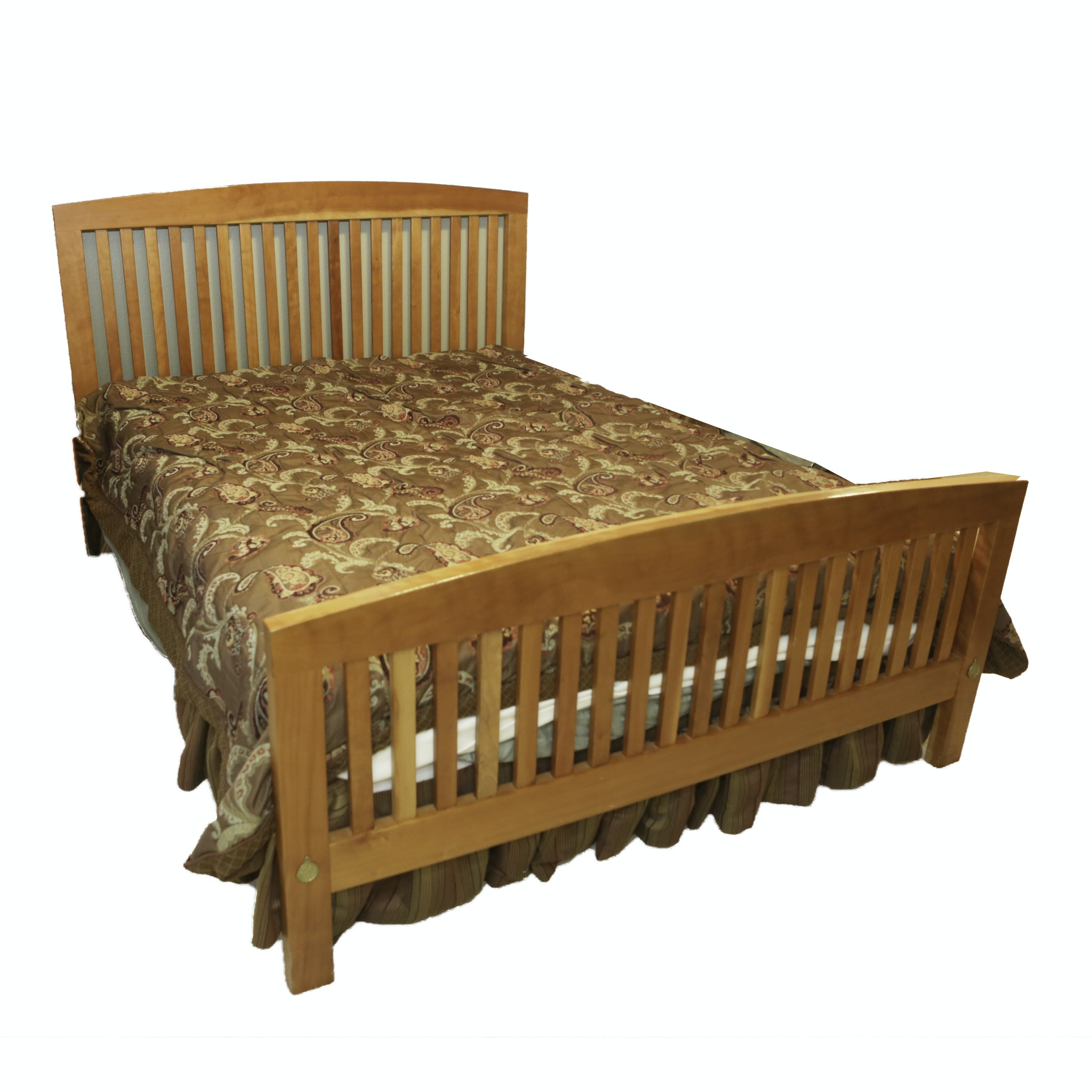 Mission Style Queen Bed Frame