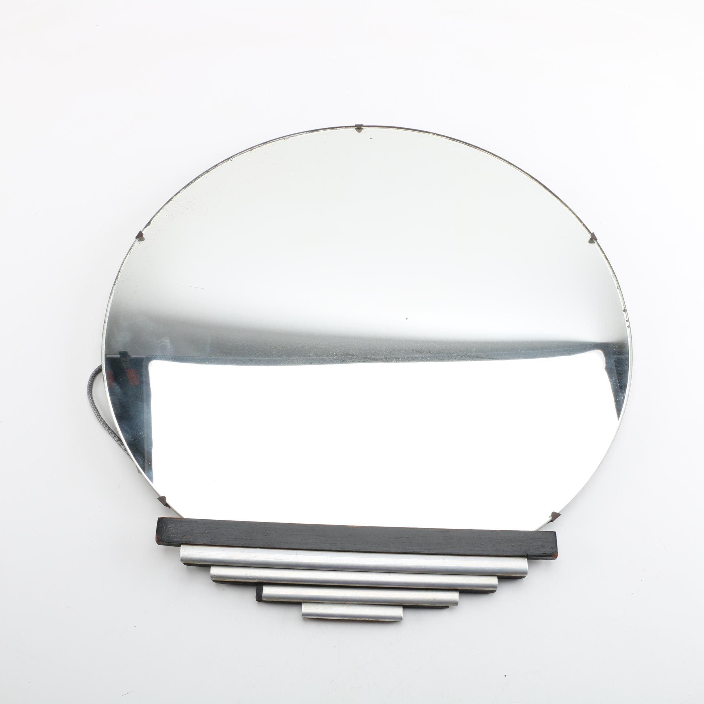 Art Deco Round Wall Mirror