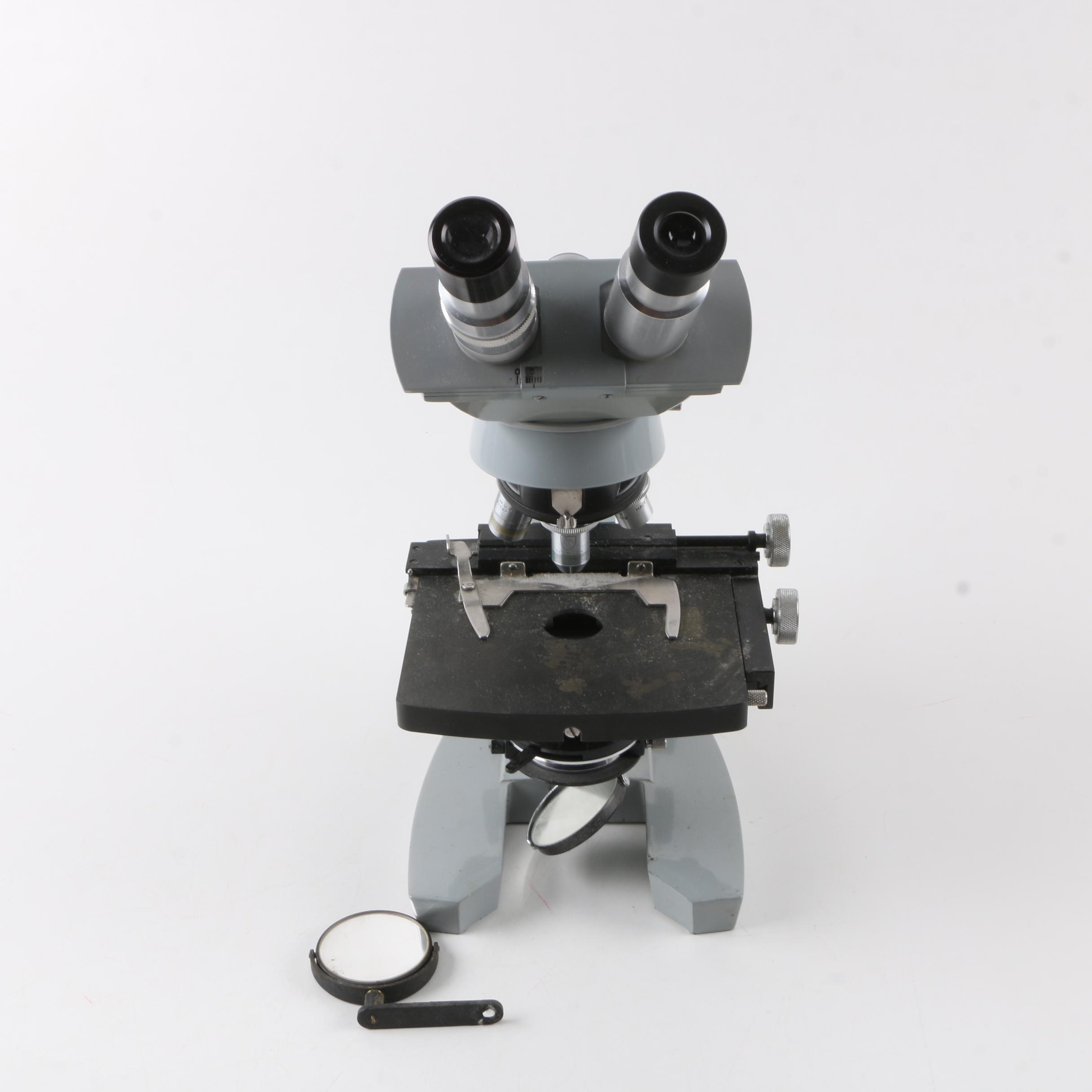 American Optics Spencer Binocular Microscope