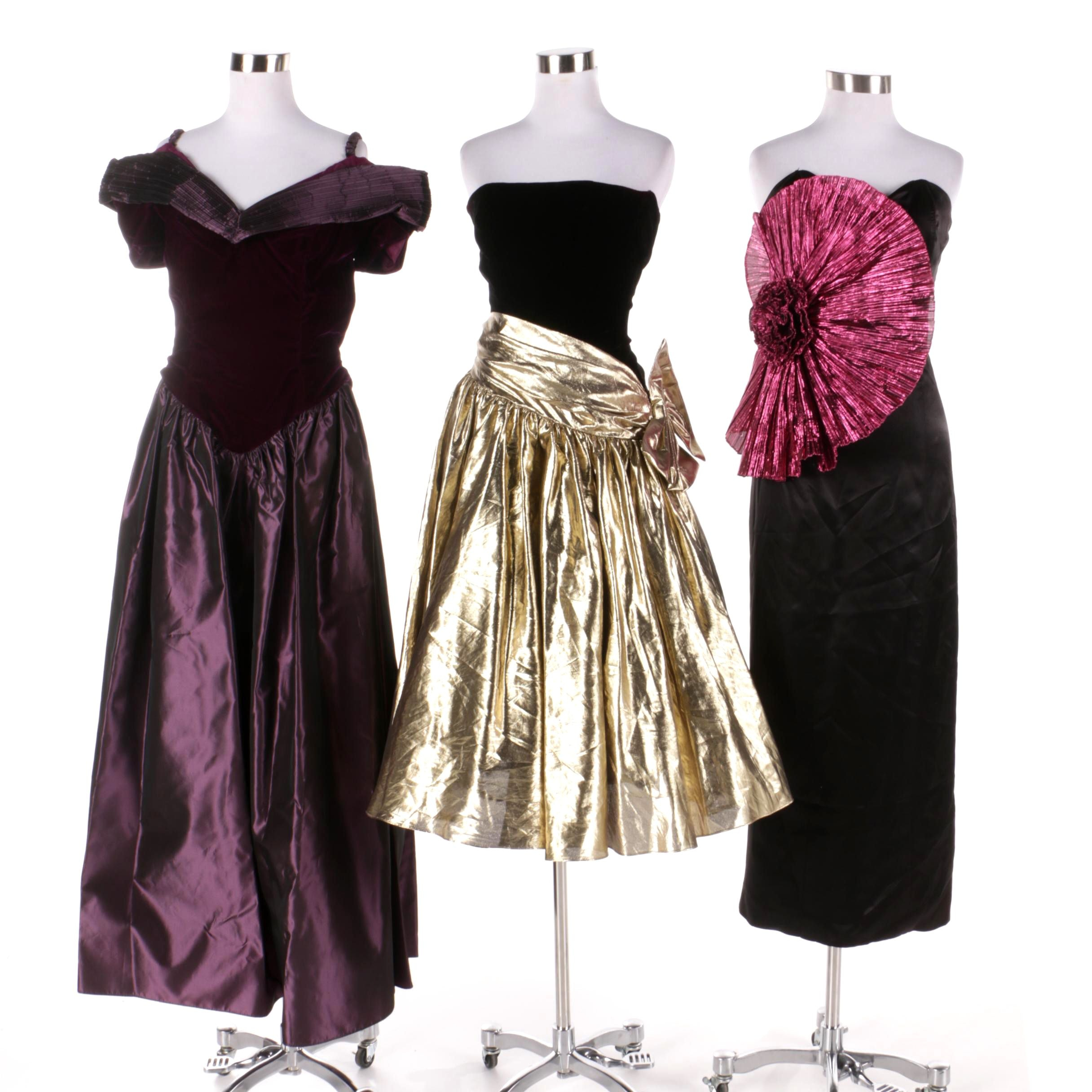 Vintage Formal Evening Gowns