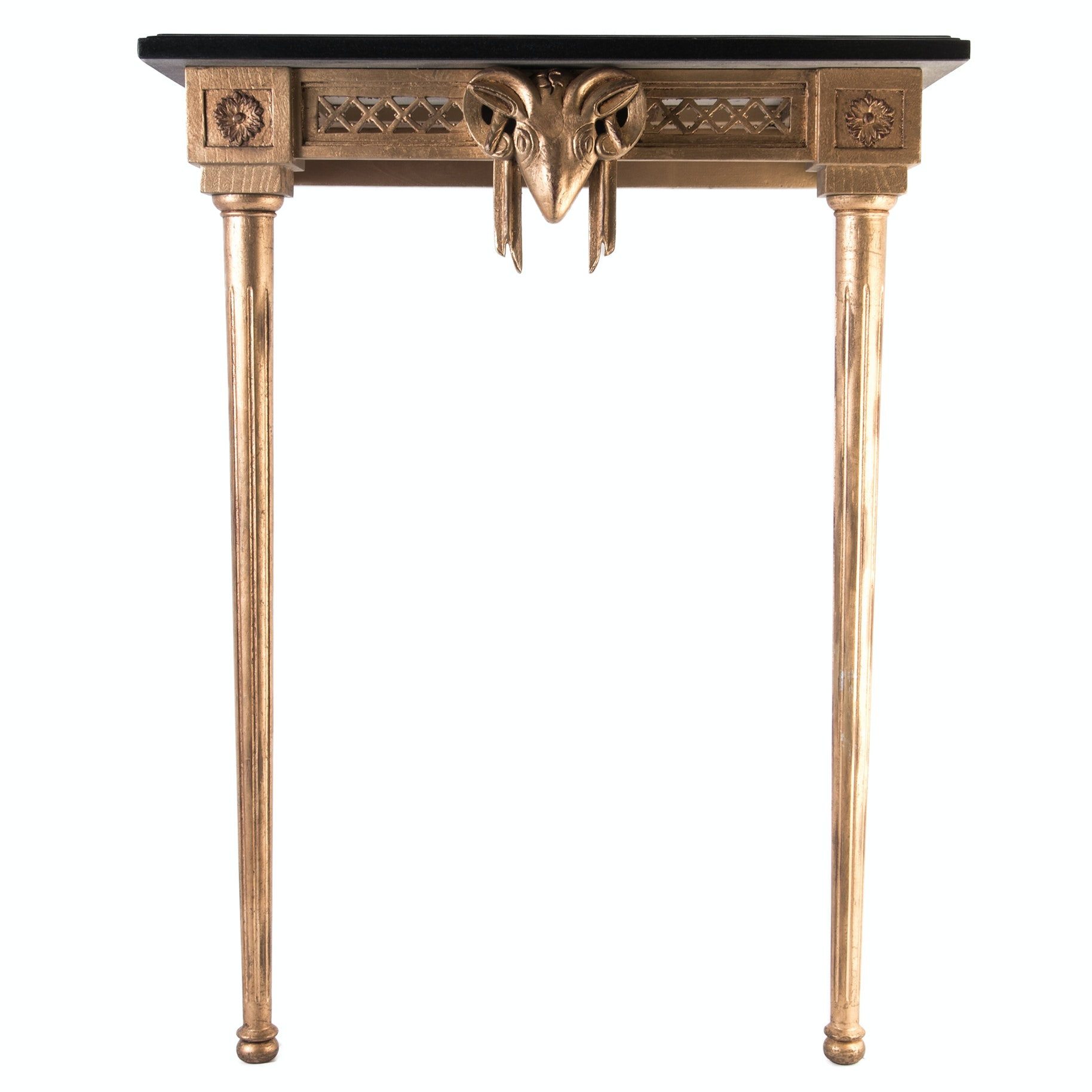 Delicieux Neoclassical Inspired Wall Mounted Entry Table ...