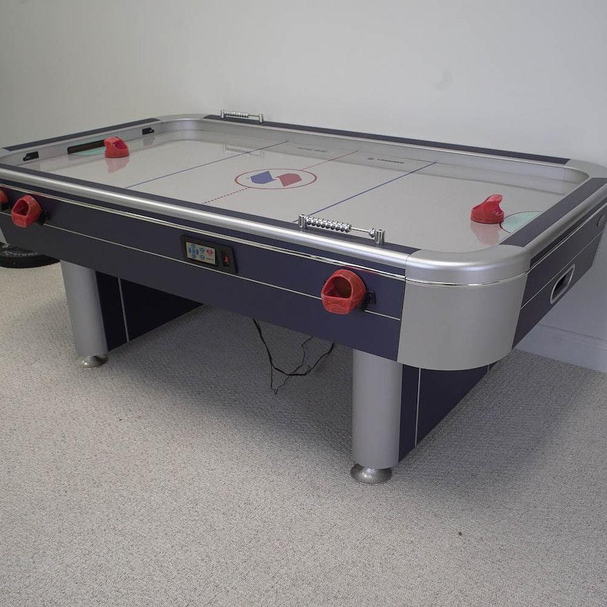 Sportcraft Turbo Air Hockey Table EBTH - Sportcraft turbo air hockey table