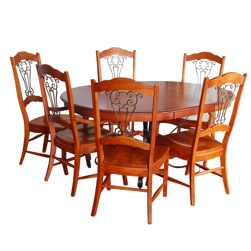 Dining table and chairs by richardson brothers furniture - Richardson brothers bedroom furniture ...