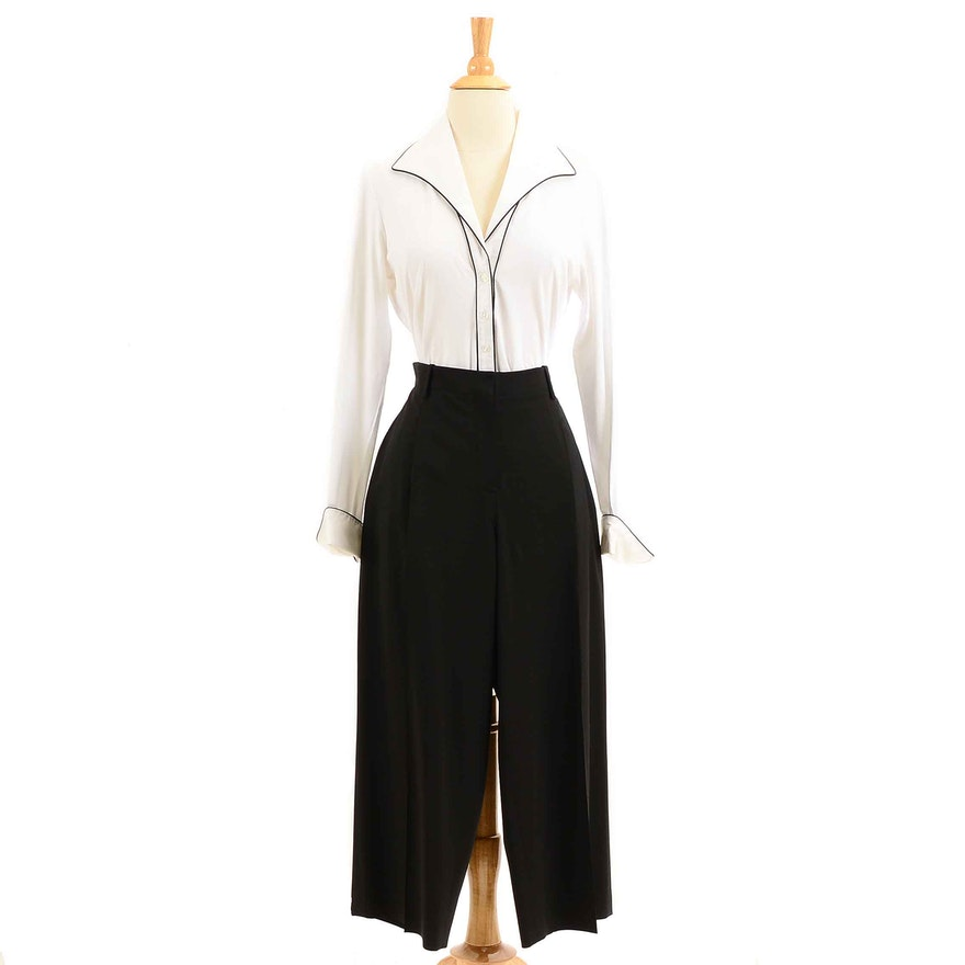 b0519149c5fa0 Anne Fontaine Blouse and Lafayette Culottes   EBTH