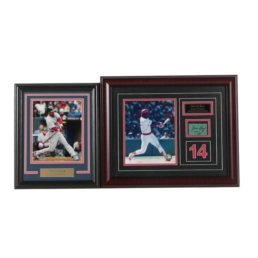 0394f88090012 Boston Red Sox Autographed Memorabilia Featuring Jim Rice   EBTH